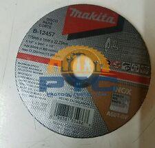 """MAKITA B-12457 PACK OF 5 PZ CUT OFF WHEEL 4 1/2"""" X 3/64"""" X 7/8"""" INOX"""