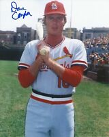 Dave Campbell 1973 St. Louis Cardinals at Wrigley Field Signed 8x10 Photo COA