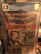 Amazing Spiderman 13. First Appearance of Mysterio. CGC 2.5