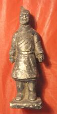 Statuina riproduzione mini di guerriero esercito di terracotta cinese 13 cm Cina