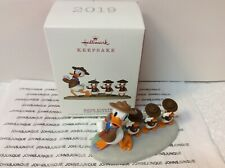 Good Scouts Hallmark Ornament 2019 New In Box Disney Donald Duck With Scouts!