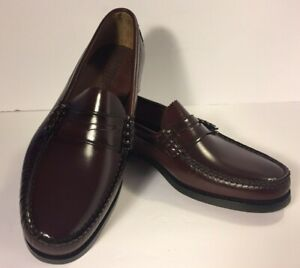 DEXTER Penny Loafers Shoes Leather Made In USA Mens Size 9 Excellent Pre-Owned