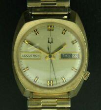 Vintage Bulova Accutron 1970's Watch - Stretch Band with Original Box & Warranty
