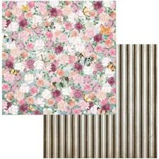 "BoBunny Garden Grove - LOVELY - 12x12"" d/sided scrapbooking paper"