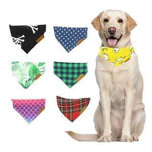 Stylish Cute Bandana Tie On Neckerchief Collar Gift Present for Dog Cat Puppy