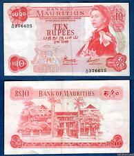 Ile Maurice – 10 Rupees 1967 Elisabeth II TTB SUP 376625 – Mauritius