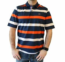 Paul&Shark Men's Striped Collared Polo Casual Shirts & Tops