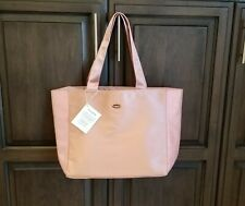 NEW COACH PINK TOTE BAG PURSE SHOULDER SHOPPER TRAVEL SCHOOL FRAGRANCE PROMO BAG