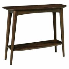 NEW Life Interiors Stockholm Walnut Console Table