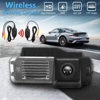 Wireless Car CCD Reverse Rear View Camera IP68 For VW Golf VI Polo V Passat CC