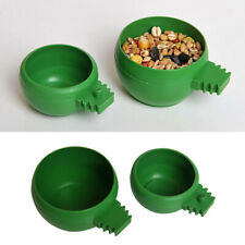 LT_ FT- Quail Bird Water Cup Round Food Bowl Poultry Drinker Container Intrigu