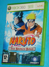 Naruto - The Broken Bond - Microsoft XBOX 360 - PAL