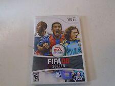 FIFA Soccer 08  (Nintendo Wii, 2007) EA Sports