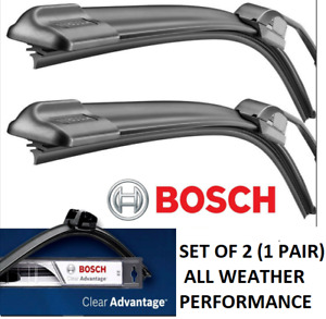 BOSCH Clear Advantage BEAM Wiper blades 24-20 Front Left & Right Set of 2 (PAIR)