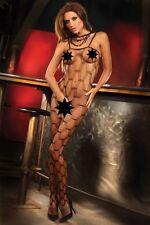 Bodystocking inguine aperto Ednah nera Tg S-L Livia Corsetti Sex shop lingerie