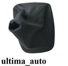 Per BMW E36 3 Serie Nero Ecopelle Pomello Leva Cambio Cover Ghetta con Telaio