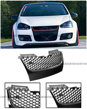 For 06-09 VW Jetta GTI MK5 Badge-less GTI Style Front Bumper Mesh Grille Grill