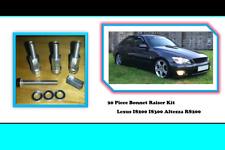 Lexus IS200 Altezza RS200 IS300 Bonnet Raisers 20 Piece Set