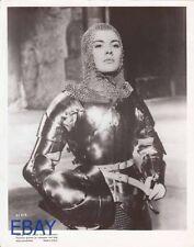 Jean Seberg smokin' hot butch in armor VINTAGE Photo Sain Joan