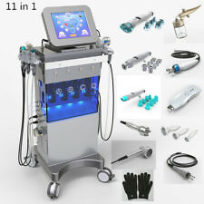 11 in 1  hydra facial water dermabrasion micro-current photo light spa machine