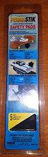 "Anti-Slip Safety Stair Ramp Pads 5 PC SELF-ADHESIVE BLACK 1.75"" X 8"" PermaStick"