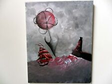 "Blood Bluff, 2000-Now, Surrealism, Artist, Fantasy, Medium (Up to 30""), Signed"