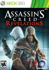Assassins Creed Revelations Xbox 360 Game Complete Case With Manual