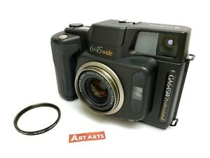 【EXCELLENT+++++ COUNT 006】 Fuji Fujifilm GA645W Pro BLACK Film Camera from JAPAN