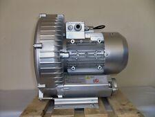 """REGENERATIVE BLOWER  2.8 HP 185 CFM  76""""H2O Max press"""