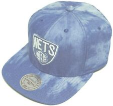 Mitchell & Ness and Brooklyn Nets Blue Dyed Denim EU129 Snapback Cap Basecap