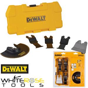 DeWalt Oscillating Multi Tool Accessory Cutting Scraper Blade Set 5pc Metal Wood