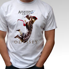 Assassins Creed Odyssey white t shirt game top - mens and kids sizes