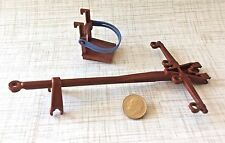 Horse Harness Wagon Hitch, Barrel Stand/Tiedown--PLAYMOBIL Western Train--L-5248
