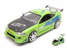 Fast & Furious Brian's Mitsubishi Eclipse Lime Green 1:24 Model 97603 JADA TOYS