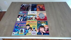 Ms Tree - Eclipse, Renegade and DC. - lot of 9 books - 1983 to 1991 - 8.5+ -