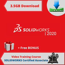 SOLIDWORKS Certified Associate Video Training Course 3GB DOWNLOAD + Free Bonus