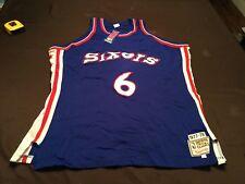 Philadelphia 76ers Julius Erving Dr J authentic jersey size 54 NWT