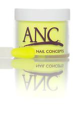 ANC 153 NEON YELLOW  SNS Compatible Nail Dipping Powder 28g (1oz) F/p Aust