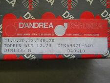 D`Andrea Weldonaufnahme,Toprun,  SK 40 DIN 69871 A40 WLD12.70
