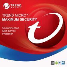 Trend Micro Maximum Security 2020 5 PC 2 Jahre