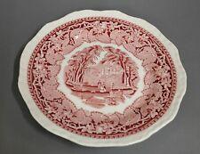Kuchenteller Teller Mason´s Vista England rot 20 cm