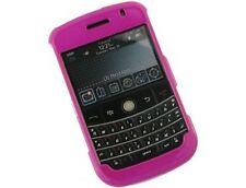 Hot Pink Hard Plastic Phone Protector Cover Case For BlackBerry Bold 9000