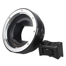 Auto Focus Halterung Adapter EF-NEX für Verbindung Canon EF zu Sony NEX Schwarz
