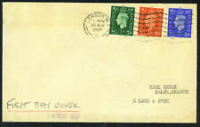 UK 1937 KING GEORGE VI ISSUES OF FDC 10 MAY, 1937 RARE