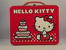 Hello Kitty Metal Lunch Box - Brand New