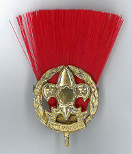 SCOUTS OF NIPPON (JAPAN) - ASSISTANT SCOUT LEADER (RED COLOUR) Metal Plume