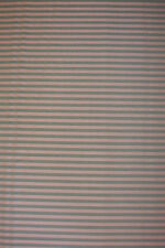 Vintage fabric.  Green and tan stripe.