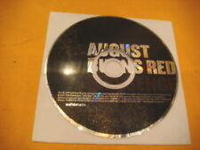 Cardsleeve Full CD AUGUST BURNS RED Messenger 11TR 2007 hardcore