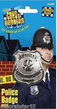 Placa de metal mujer policía policía La policía Badge Policía Disfraz Elaborado Vestido Insignia