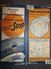 carte michelin 99 grandes routes de france france sud 1933